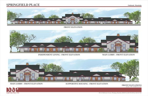 Front Elevation Pdf : Springfield place facility amenities